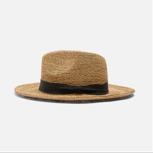 Zara Raffia Hat - Small